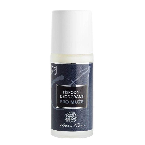 prírodný deodorant pre mužov